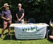 picture of WHPC stand at fete